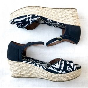 Toms jute wedge Espadrille Sandals